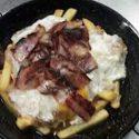 Huevos Rotos con Bacon